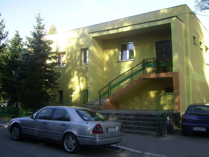 Budynek Gminnego Ośrodka Pomocy Społecznej