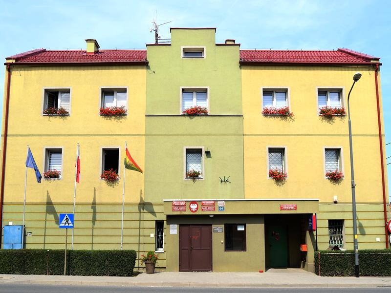 Budynek Urzędu Gminy w Wądrożu Wielkim