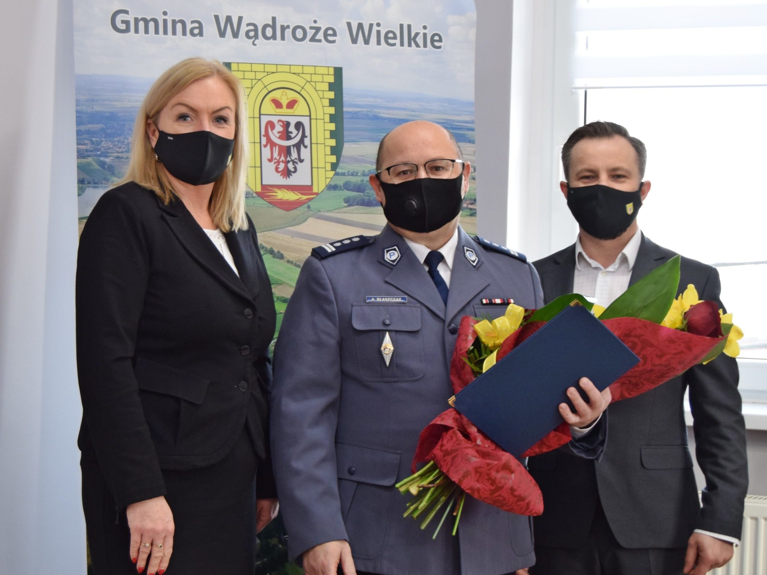Komendant Powiatowej Policji w Jaworze przechodzi na emeryturę