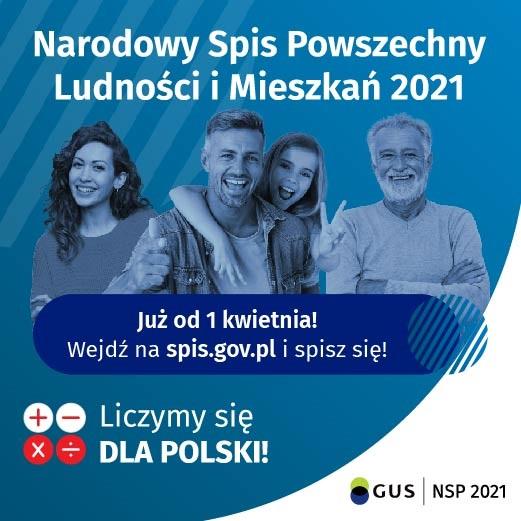 Przejdź do: Narodowy Spis Powszechny Ludności i Mieszkań 2021 r.